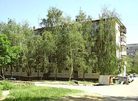 Novokuibyshevsk, Dzerzhinsky st, house 54. Apartment house
