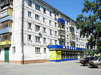 neighbour house: st. Dzerzhinsky, house 54. Apartment house