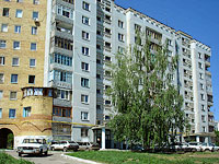 Novokuibyshevsk, Dzerzhinsky st, house 58. Apartment house