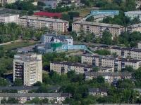 Novokuibyshevsk, Dzerzhinsky st, house 12. Apartment house