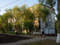 Novokuibyshevsk, st Dzerzhinsky, house 15. Apartment house