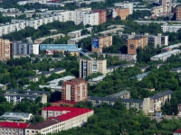 Novokuibyshevsk, Dzerzhinsky st, house 21А. Apartment house