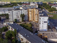 Novokuibyshevsk, Dzerzhinsky st, house 29. Apartment house