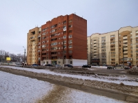 Novokuibyshevsk, Egorov st, house 1. Apartment house