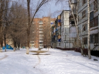 Novokuibyshevsk, Egorov st, house 4. Apartment house