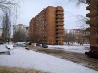 Новокуйбышевск, улица Егорова, дом 10А. многоквартирный дом