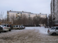 Novokuibyshevsk, Egorov st, house 16. Apartment house