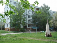Novokuibyshevsk, Karbyshev st, house 12Б. Apartment house