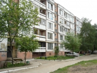 Novokuibyshevsk, Karbyshev st, house 14Б. Apartment house