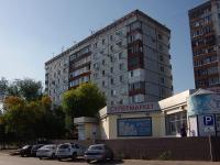 Новокуйбышевск, улица Карбышева, дом 4. многоквартирный дом
