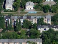 Новокуйбышевск, улица Кирова, дом 3А. многоквартирный дом