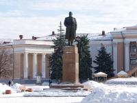 Новокуйбышевск, памятник В.И. Ленинуулица Коммунистическая, памятник В.И. Ленину