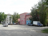 Novokuibyshevsk, Kutuzov st, house 16. fire-fighting Detachment