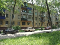 Novokuibyshevsk, st Leningradskaya, house 6. Apartment house