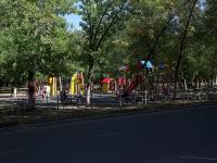 Новокуйбышевск, улица Ленинградская. детская площадка