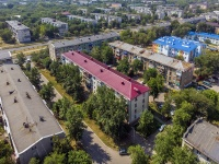 Novokuibyshevsk, st Leningradskaya, house 1. Apartment house