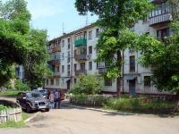 Novokuibyshevsk, st Leningradskaya, house 3. Apartment house