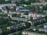 Novokuibyshevsk, Leningradskaya st, house 4. Apartment house