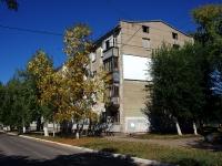Novokuibyshevsk, st Leningradskaya, house 4. Apartment house