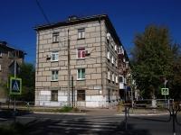 Novokuibyshevsk, st Leningradskaya, house 7. Apartment house
