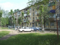 Novokuibyshevsk, Mironov st, house 21Б. Apartment house
