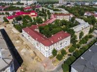 Novokuibyshevsk, st Mironov, house 1. Apartment house