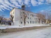 neighbour house: st. Mironov, house 2. governing bodies Администрация г. Новокуйбышевск