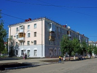 Novokuibyshevsk, st Mironov, house 6. Apartment house