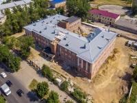 Novokuibyshevsk, st Mironov, house 11. building under reconstruction
