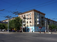 Novokuibyshevsk, st Mironov, house 8. Apartment house