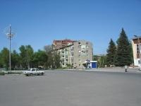 Новокуйбышевск, улица Островского, дом 10. многоквартирный дом