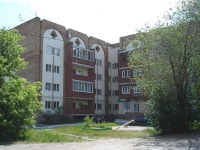 Novokuibyshevsk, Ostrovsky st, house 34. Apartment house