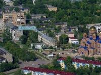 Новокуйбышевск, улица Островского, дом 2.   Детская музыкальная школа №1 имени Ю.А.Башмета