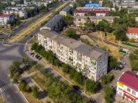 Novokuibyshevsk, st Ostrovsky, house 3. Apartment house