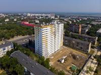 Novokuibyshevsk, st Ostrovsky, house 8. Apartment house