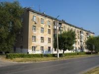 Novokuibyshevsk, st Ostrovsky, house 9. Apartment house