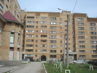 Novokuibyshevsk, Pobedy avenue, house 38. Apartment house