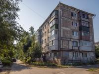 Novokuibyshevsk, avenue Pobedy, house 1А. Apartment house