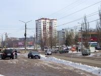 Novokuibyshevsk, Pobedy avenue, house 11. Apartment house