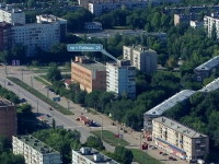 Novokuibyshevsk, Pobedy avenue, house 25. Apartment house
