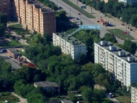 Novokuibyshevsk, Pobedy avenue, house 40. Apartment house
