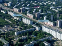 Novokuibyshevsk, Pobedy avenue, house 48. Apartment house