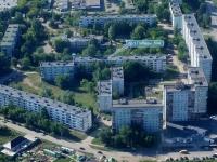 Novokuibyshevsk, Pobedy avenue, house 50А. Apartment house