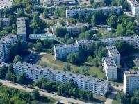 Novokuibyshevsk, Pobedy avenue, house 50Б. Apartment house