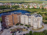 Novokuibyshevsk, alley Priozernij, house 7. Apartment house
