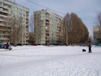 Новокуйбышевск, проезд Расковой, дом 6. многоквартирный дом