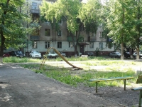 Novokuibyshevsk, Repin st, house 1. Apartment house