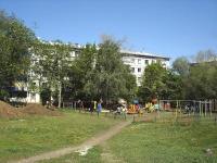 Novokuibyshevsk, Sverdlov st, house 1. Apartment house