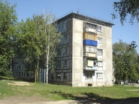 Novokuibyshevsk, st Sverdlov, house 9. Apartment house