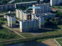 Novokuibyshevsk, Sverdlov st, house 25А. Apartment house